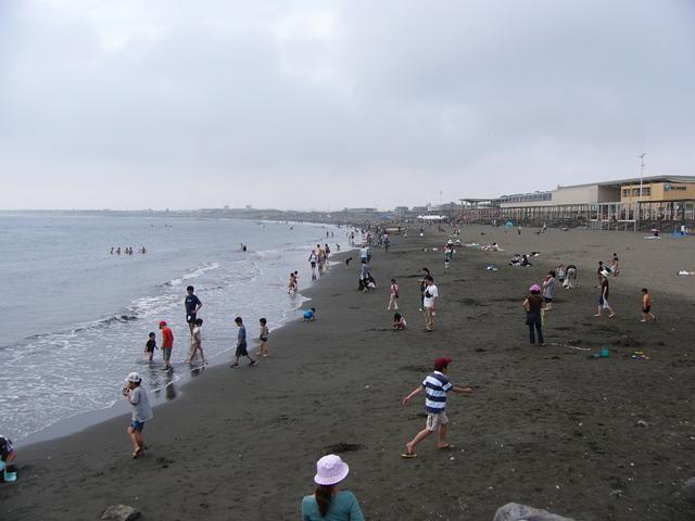 広々した砂浜